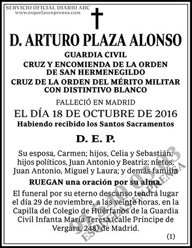Arturo Plaza Alonso